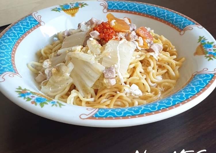 Cara memasak Non-MSG Mie kocok ala ala istimewa