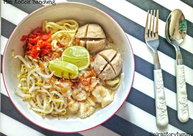Resep memasak Mie kocok Bandung ala resto
