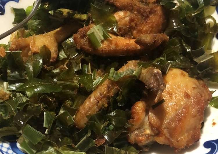Cara memasak Ayam tangkap enak