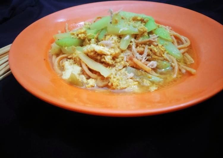 Resep: Mie Gomak kuah simple khas Medan ala resto