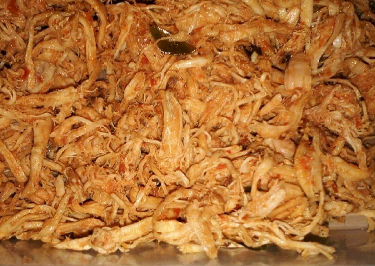 Resep: Misro ayam atau suwir ayam yang menggugah selera
