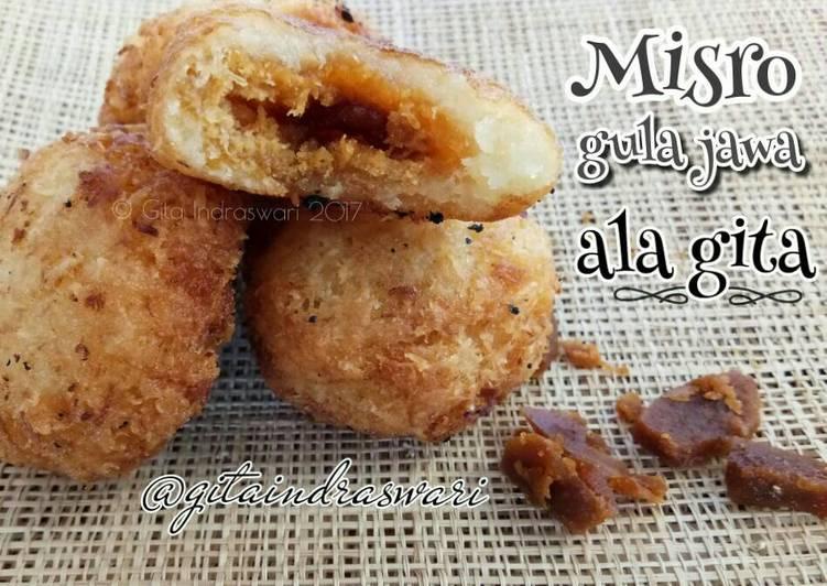 Cara Mudah membuat Misro gula jawa #indonesiamemasak ala resto