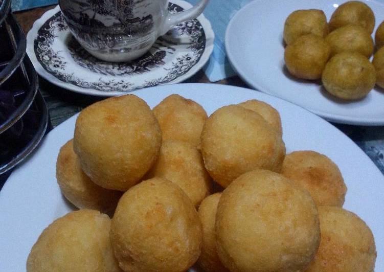Cara Mudah memasak Bola bola singkong/Misro,Klenyem#solo enak
