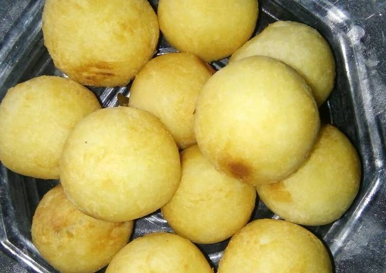 Resep: Jemblem Misro (singkong) gula putih ala resto