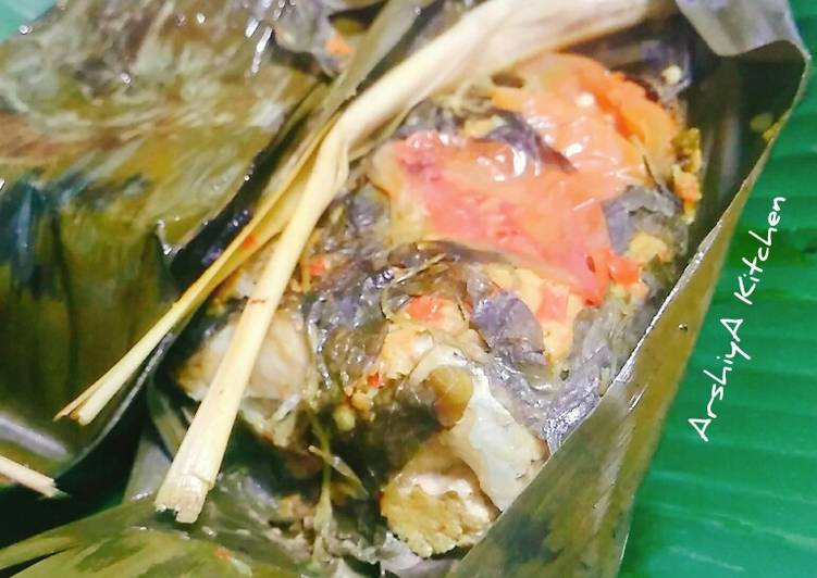 Resep: Pepes Ikan Mas yang bikin ketagihan