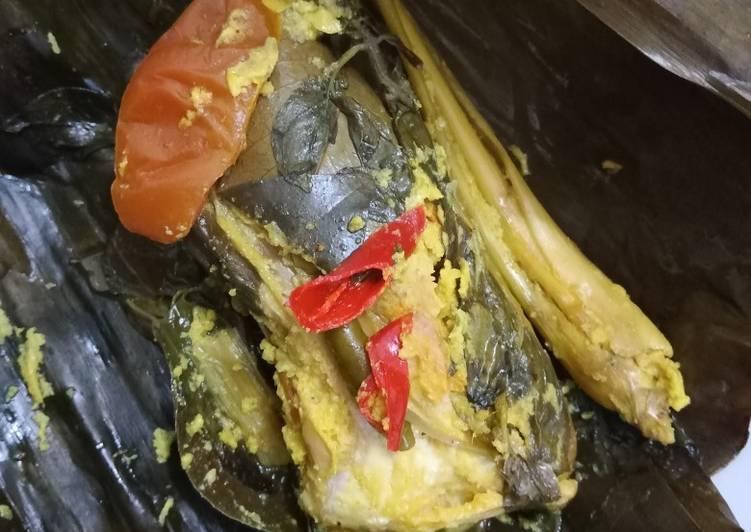 Resep: Pepes Ikan Mas tulang lunak yang bikin ketagihan