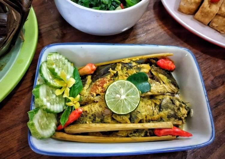 Resep: Presto pepes ikan mas enak