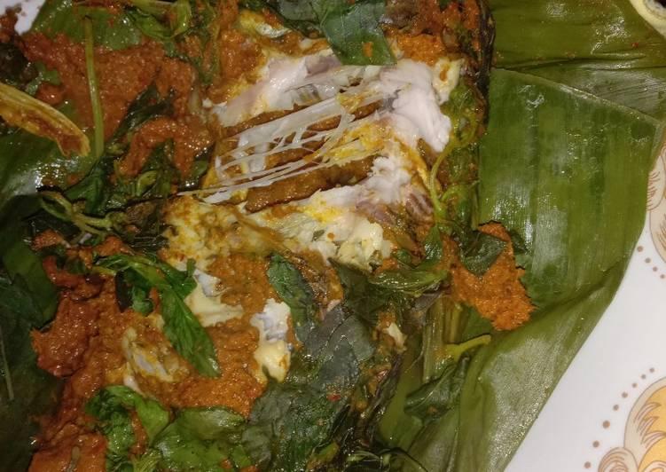 Resep: 9. Ikan mas pepes kuali lezat