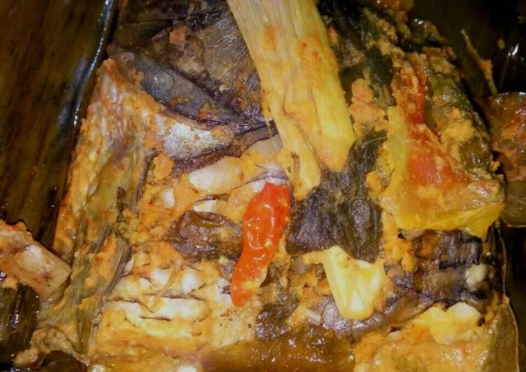 Resep: Pepes ikan mas presto istimewa