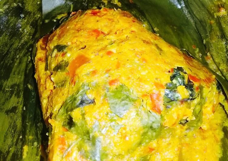 Resep mengolah Pepes ikan Emas istimewa