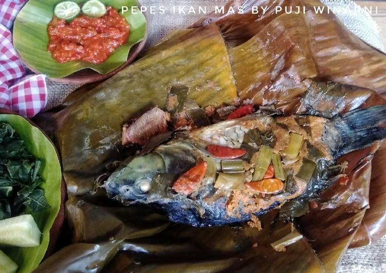 Resep memasak Pepes ikan mas yang bikin ketagihan