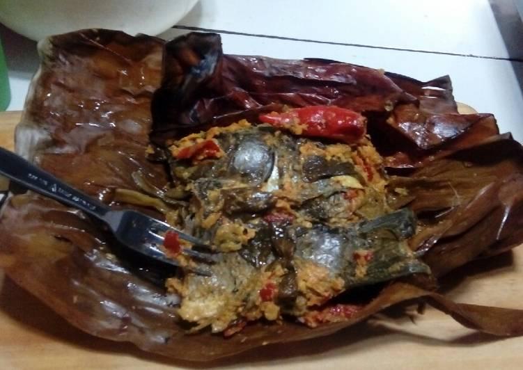 Resep: Pepes Ikan Mas Kemangi (presto) sedap