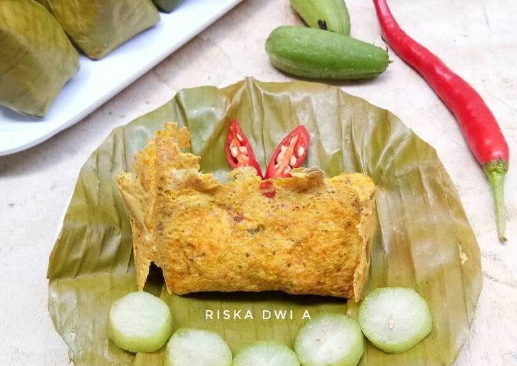 Pepes Telur Ikan Mas (#PR_BukanPepesanKosong)