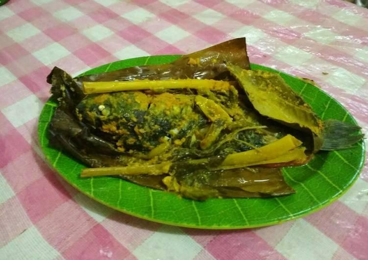 Resep membuat Pepes ikan mas