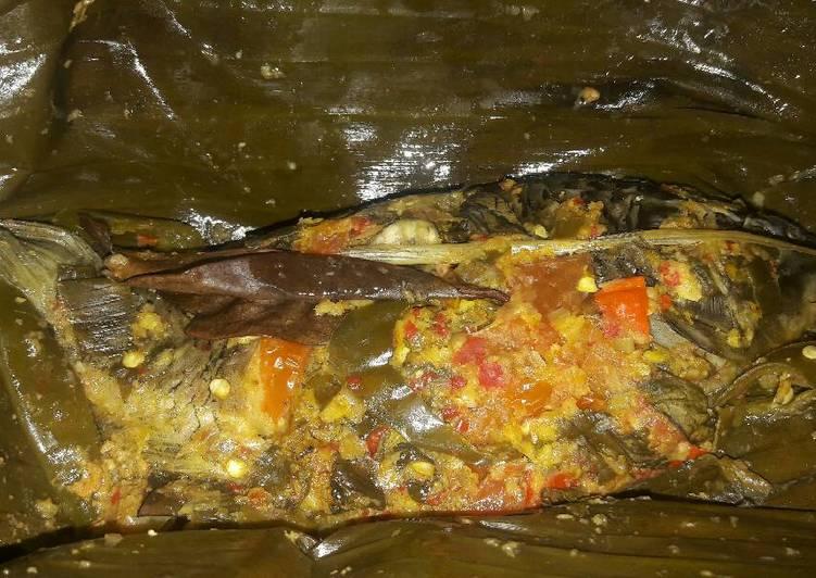 Resep mengolah Pepes Ikan Mas yang bikin ketagihan