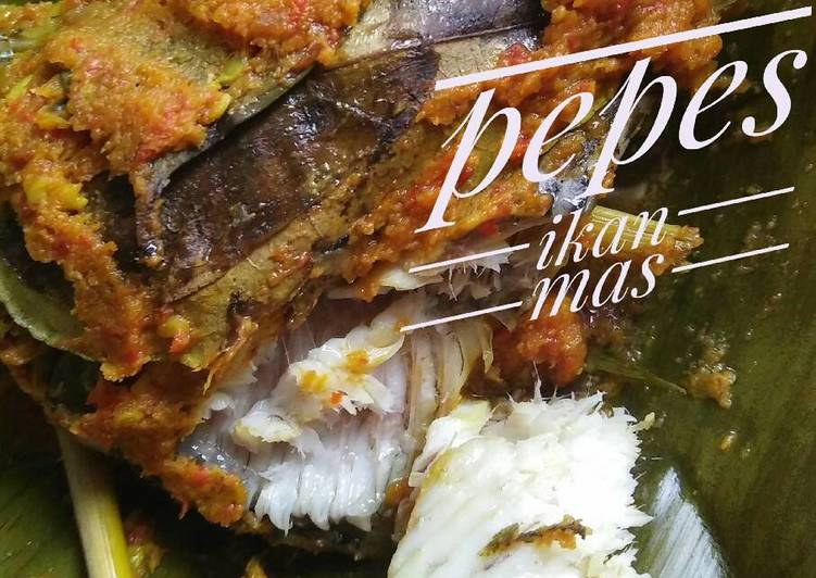 Pepes ikan mas🐟🐠