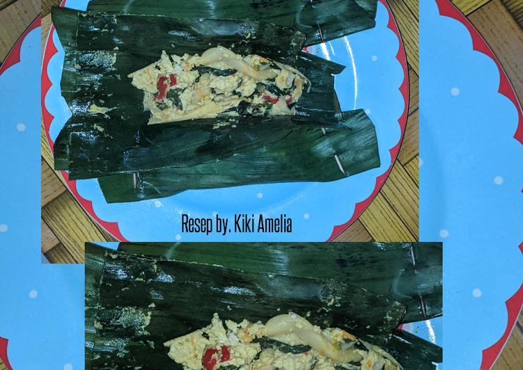Resep: Pepes tahu jamur kemangi pedas asin ala resto