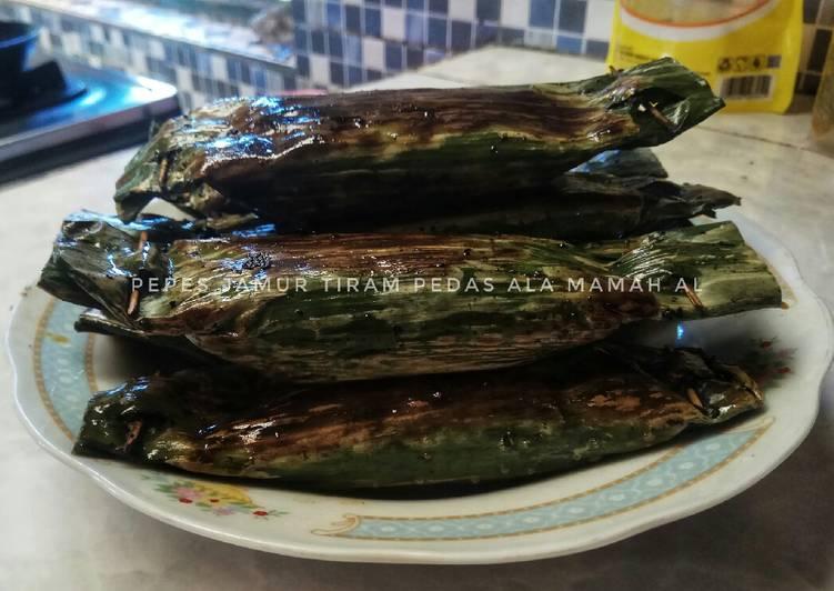 Resep mengolah Pepes jamur tiram pedas yang menggugah selera