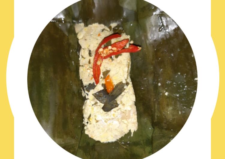 Resep membuat Pepes Tahu Jamur yang bikin ketagihan