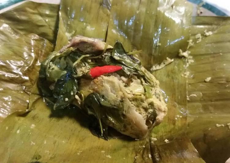 Pepes Ayam Jamur