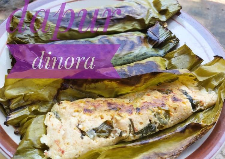 Cara membuat Pepes tahu jamur tiram #dapurdinora yang menggugah selera