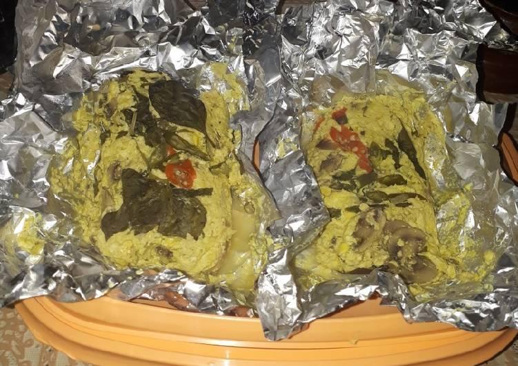Resep: Pepes tahu jamur