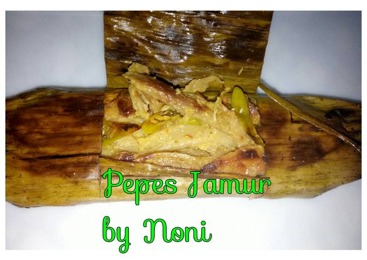Pepes Jamur Tiram