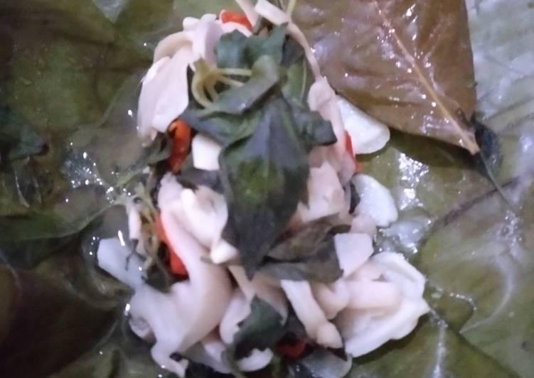 Cara Mudah memasak Pepes jamur tiram enak
