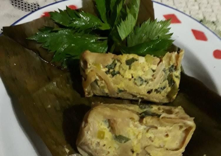 Resep: Pepes Jamur yang menggugah selera