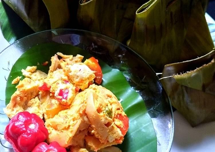 Resep memasak Pepes Tahu Jamur yang bikin ketagihan