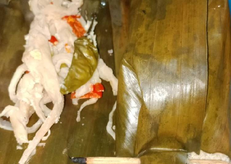 Resep: Pepes jamur istimewa