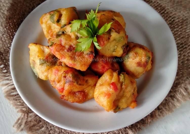 Cara memasak Perkedel Bondon khas Bandung #Bandungrecook2_CiaFebri yang menggugah selera