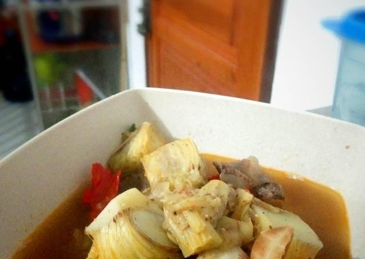 Resep: Sayur asem kluwih/ Angeun kluwih lezat