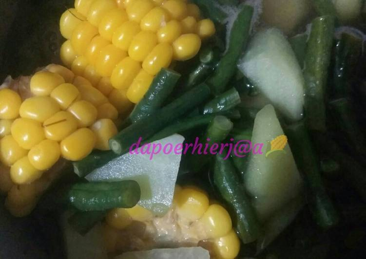 Resep: Sayur asem simpel dan seger istimewa