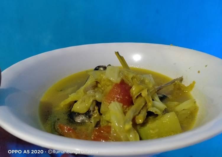 Resep: 03. Gangan asam khas banjar/sayur asem khas banjar lezat