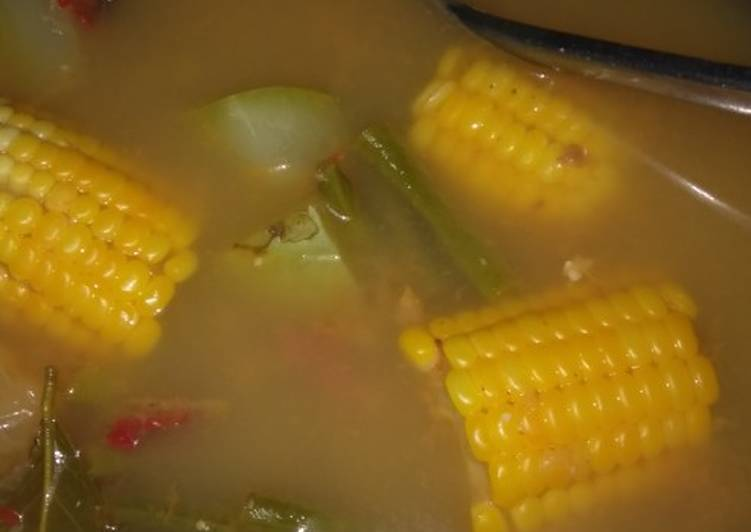 Resep membuat Sayur asam mudah yang menggugah selera