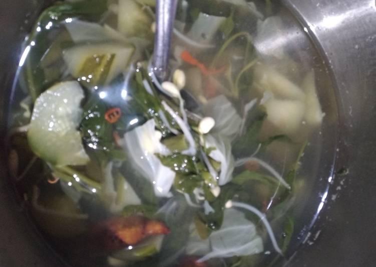 Cara memasak Sayur asem ndeso
