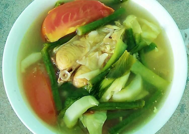 Cara Mudah membuat Sayur Asam Patin (sayur asam banjar) yang menggugah selera