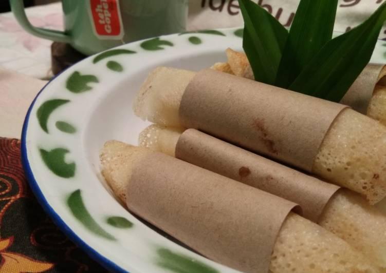 """Cara Mudah memasak Serabi Notosuman ala"""" yang bikin ketagihan"""