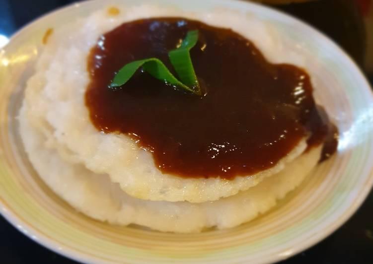 Surabeng/serabi tepung beras