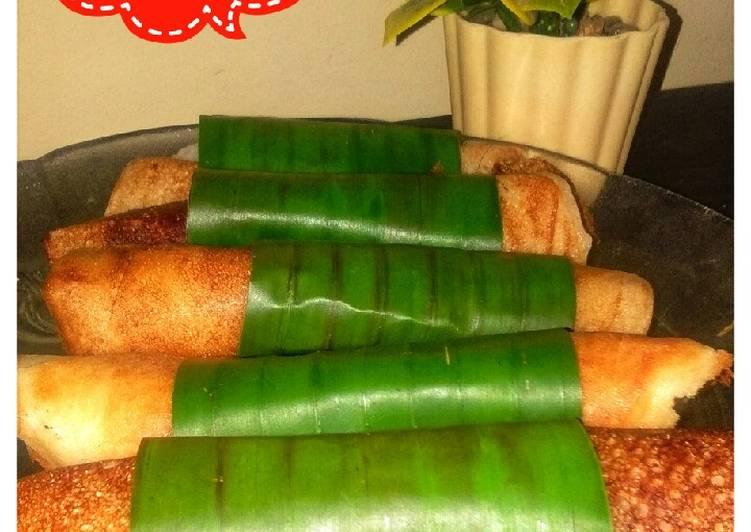 Resep mengolah Serabi teflon lezat