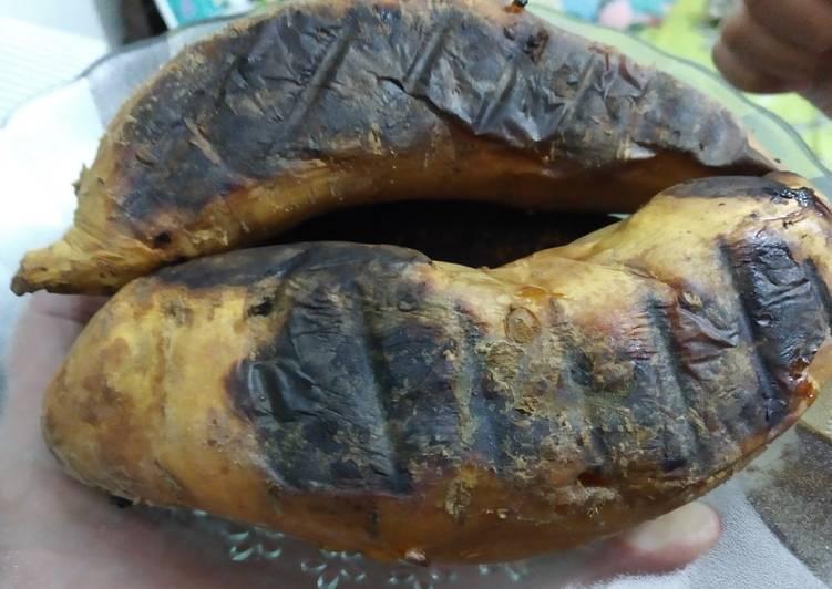 Resep: Ubi bakar Cilembu ala resto