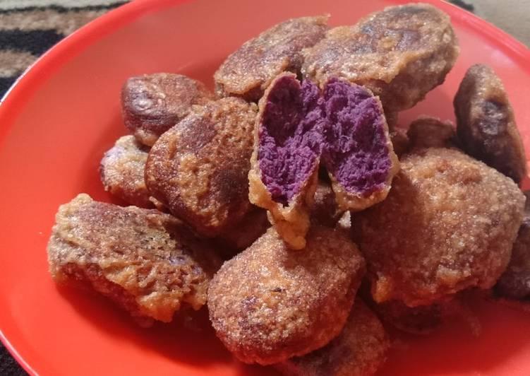 Resep: Ubi jalar bakar ungu enak