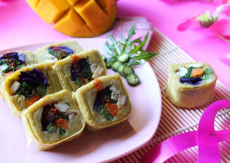 Resep: Sushi Ubi -Kimbab ubi istimewa