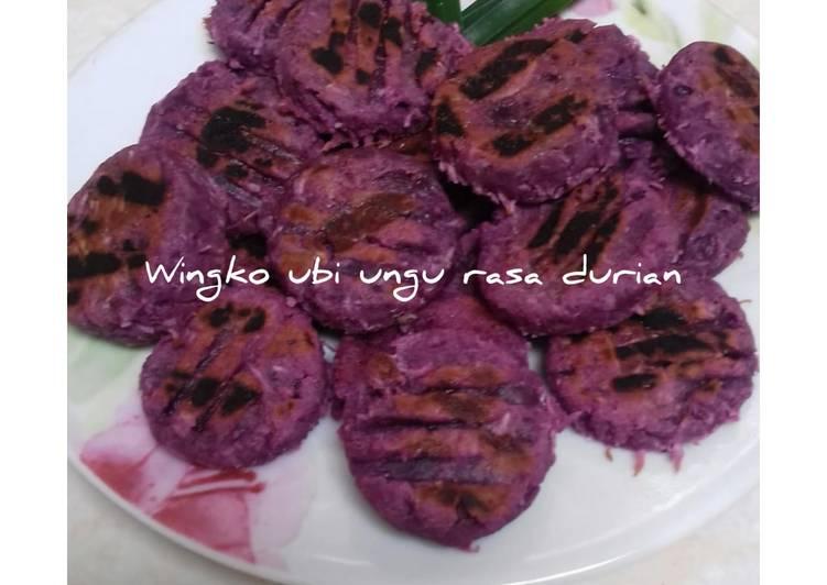 Winko Ubi Ungu Rasa Durian (Bu Tri)