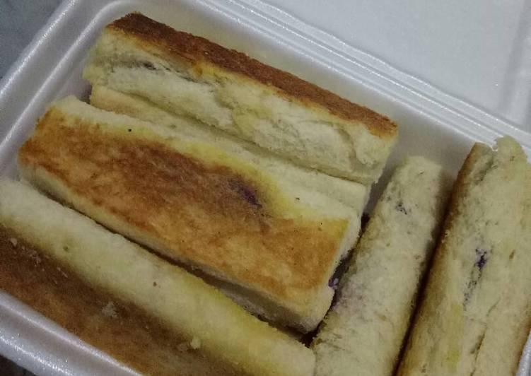Resep: Roti bakar yang bikin ketagihan