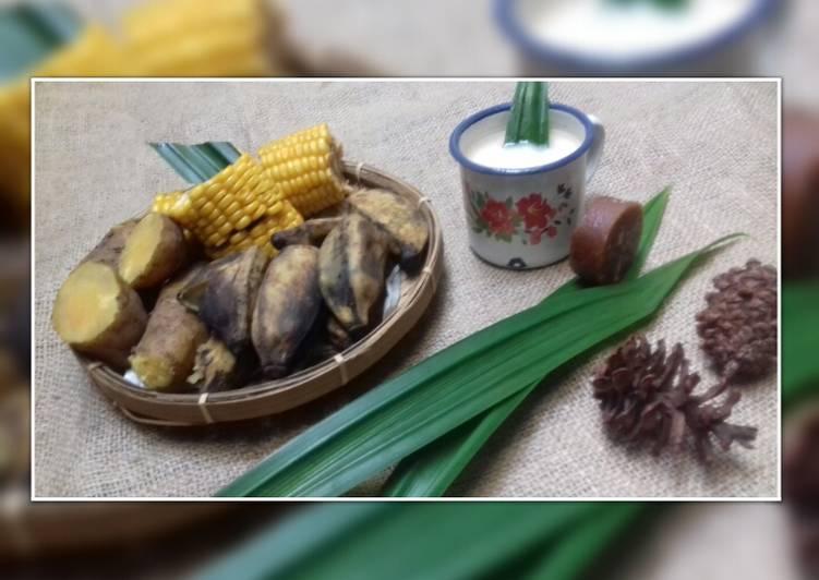 Resep: Kukuluban dan Wedang Susu Jahe Hangat enak