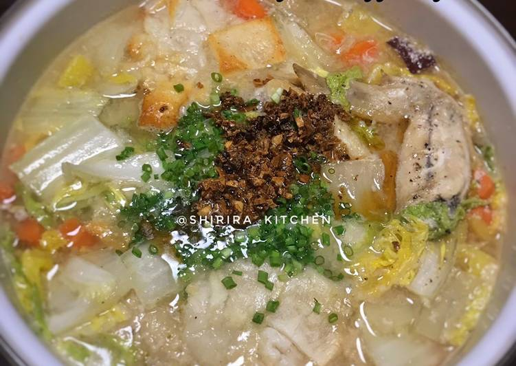 Resep: Korean Soup Ginseng (samgyetang) super hangat ❤️ yang bikin ketagihan
