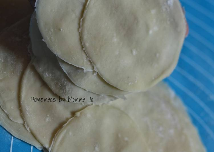 Resep: Kulit pangsit (Dumpling) lezat
