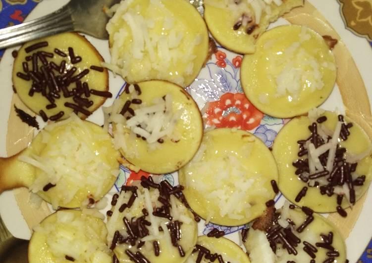 Resep: Kue Cubit Sederhana yang menggugah selera